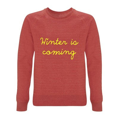 Winter is coming - Sweat-shirt - rouge