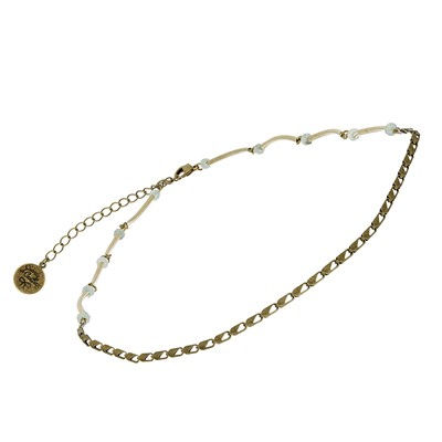 Iris - Headband ou collier - bronze