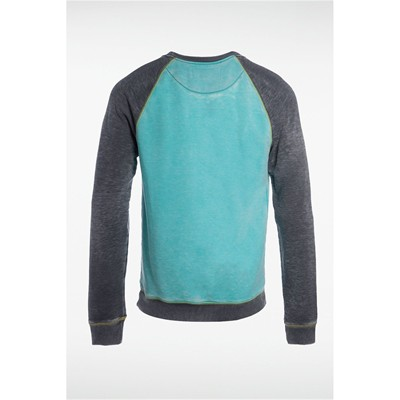 Sweat-shirt - bleu curacao