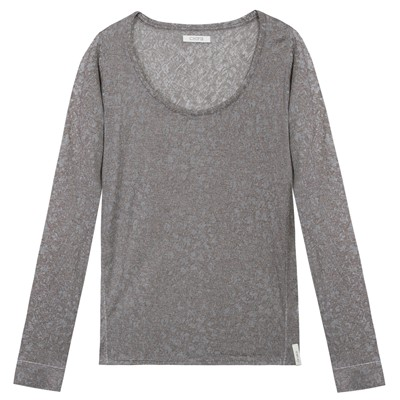Chipie Women Tulipier - Camiseta de manga larga - gris