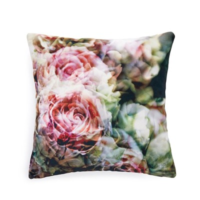 roses anciennes - Coussin - rose