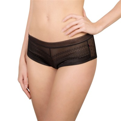 BILLET DOUX Lucky - Shorty - noir
