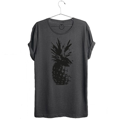 AN FAMILLE ananas - T-shirt - gris