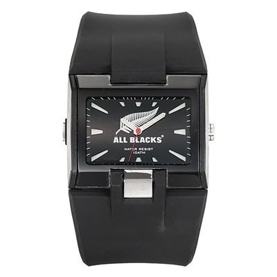 All Blacks all blacks - montre en silicone - noir