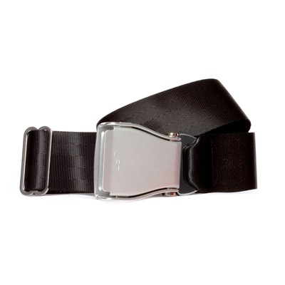 FLY BELTS Ceinture d'Avion - Ceinture à sangle coulissante - noir