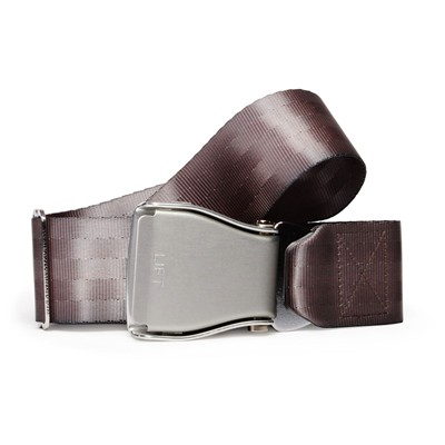 Ceinture d'Avion - Ceinture à sangle coulissante - gris