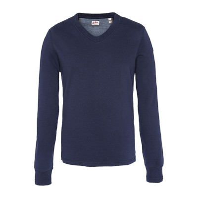 SCHOTT Sweat-shirt - bleu marine