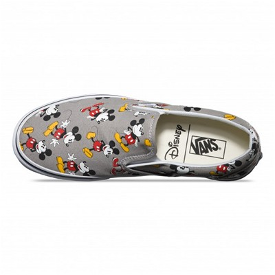 VANS Classic Slip-On (Disney) Mickey - Slip-on - gris foncé