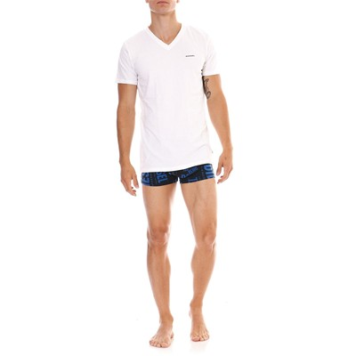 DIESEL Michael twopacks - Lot de 2 T-Shirts - blanc