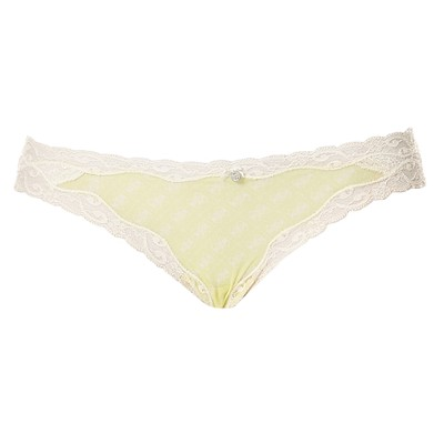 GUESS UNDERWEAR WOMEN Slip - String - citron vert