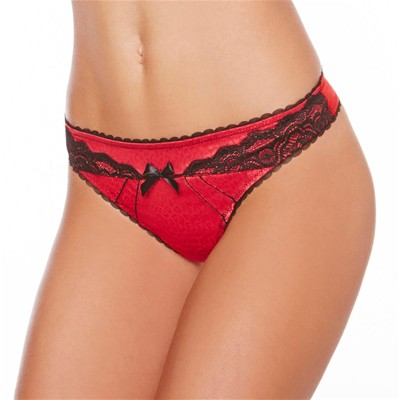 POMM'POIRE Rebelle - String - rouge