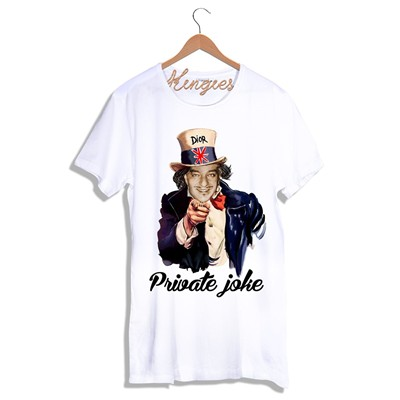 KINGIES PRIVATE JOKE - T-shirt - blanc