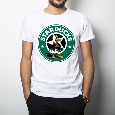 KINGIES STARDUCKS - T-shirt - blanc