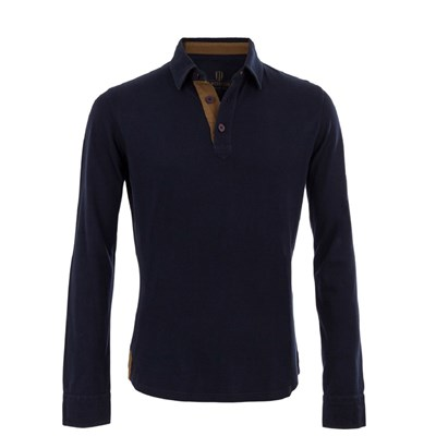 The Mountaineer - Polo - bleu marine