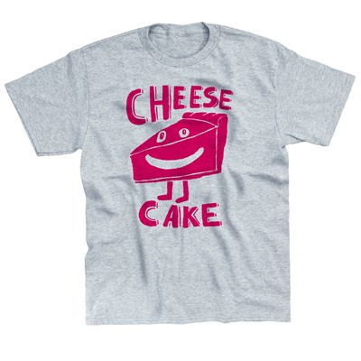 MONSIEUR POULET Cheesecake - T-shirt - gris chine