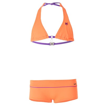 Banana Moon bluff bear - maillot 2 pièces - orange