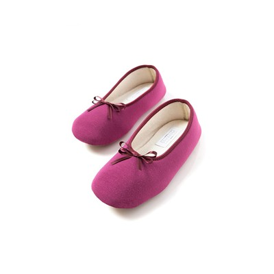 LAURENCE TAVERNIER Chaussons ballerines - prune