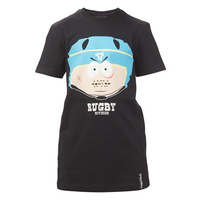 Rugby Division Rugbypark - Camiseta - negro