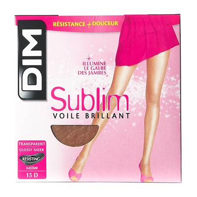 Sublim - Collant voile brillant - gazelle