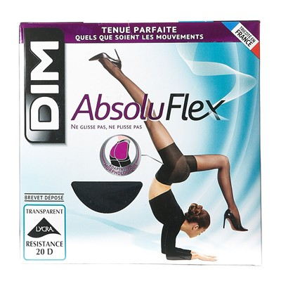 DIM COLLANT Absolu Flex - Collant transparent - noir