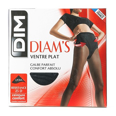 DIM COLLANT Diam's Ventre plat - Collant - noir
