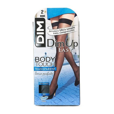 DIM COLLANT Dim Up Easy Body Touch - Bas - noir