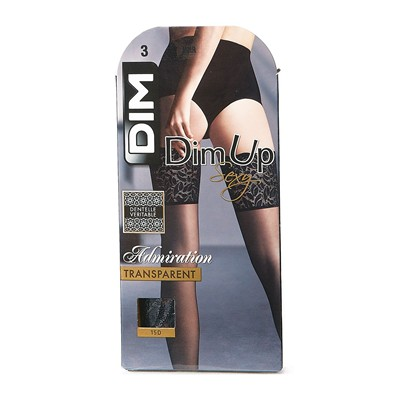 DIM COLLANT Dim Up Admiration - Bas - noir