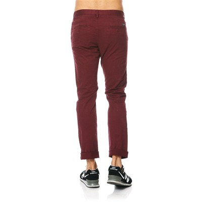 TEDDY SMITH Chino - Pantalon chino - rouge
