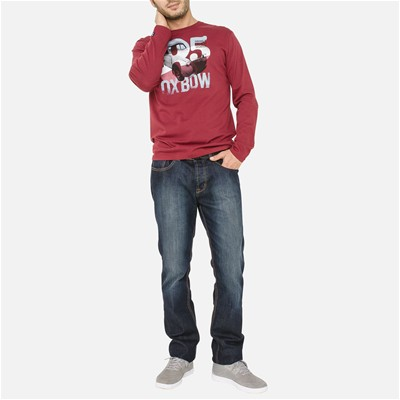 OXBOW Towek - T-shirt - bordeaux