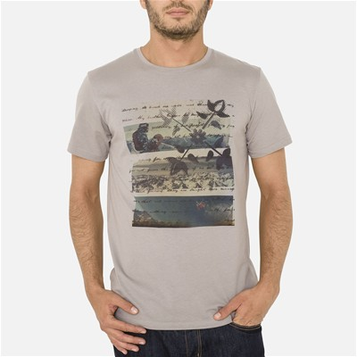 OXBOW Spruce - T-shirt - gris