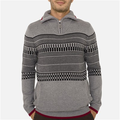 OXBOW Romont - Pull - gris chine