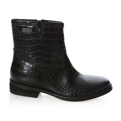 Country - Bottines en cuir - noir