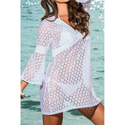 BEAUTYS LOVE Robe de plage - blanc