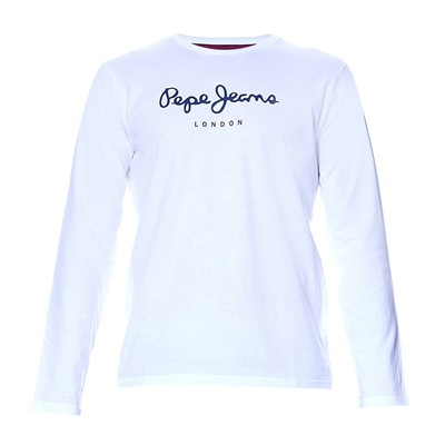 PEPE JEANS LONDON Eggo long - T-shirt - blanc