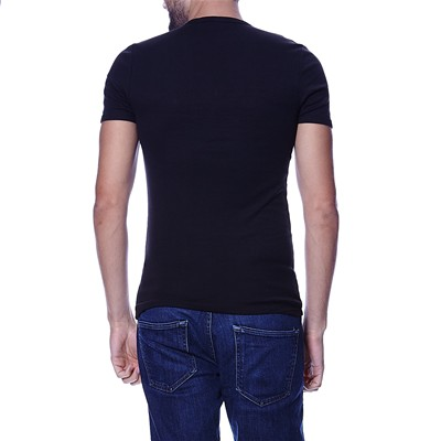 BASE - Lot de 2 t-shirts - noir