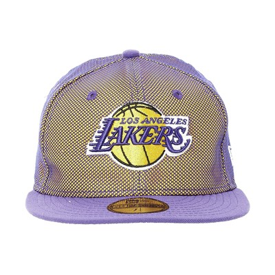 NEW ERA Mesh Crown Lakers - Casquette - violet