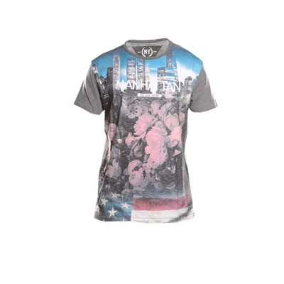 DEELUXE T-shirt manches courtes - gris