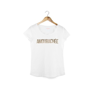 FRENCH DISORDER Amourachée - Top/tee-shirt - blanc