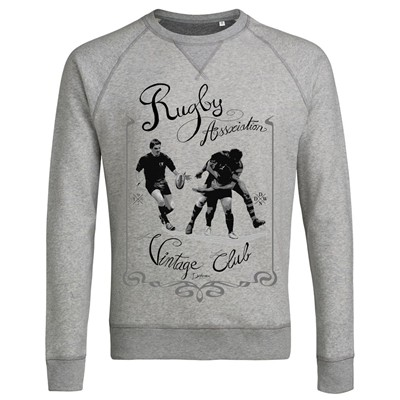 Rugby Vintage - Sweat-shirt - gris clair
