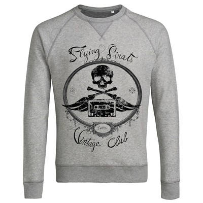 Flying Pirats Vintage - Sweat-shirt - gris clair