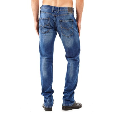 GUESS Straight - Jean slim - bleu ciel