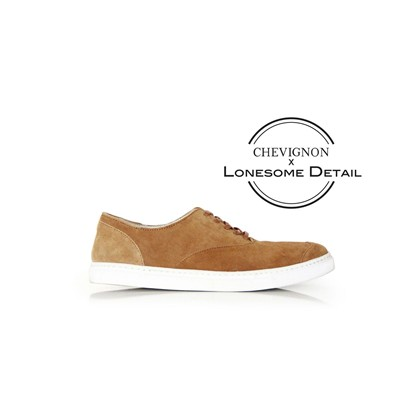Steve - Baskets Collaboration Chevignon X Lonesome Detail - caramel
