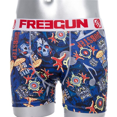 FREEGUN Dub Step - Boxer - bleu