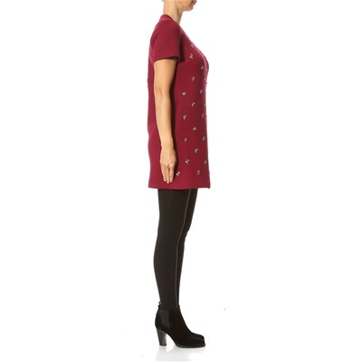 Dritto Dritto Bordeaux Bordeaux Vestito Vestito Manoush Manoush Manoush Uqw6O