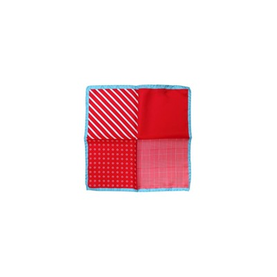 POCHETTE SQUARE Red Quatuor - Pochette - multicolore
