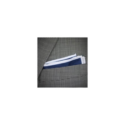 POCHETTE SQUARE The thin white line - Pochette - bleu