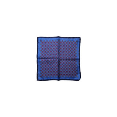 POCHETTE SQUARE Eye in the Square - Pochette - bleu