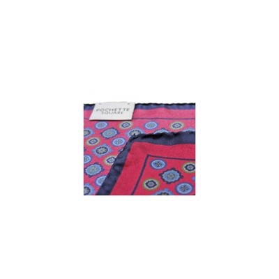 POCHETTE SQUARE Eye in the Square - Pochette - bordeaux