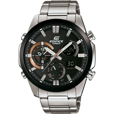 Casio Edifice - Type : chrono - argent