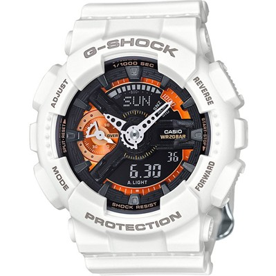 Casio G-Shock - Type : chrono - blanc